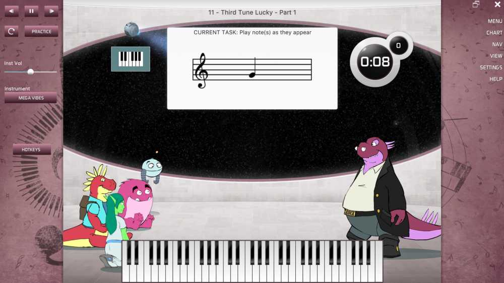 Piano Lessons Revision Games