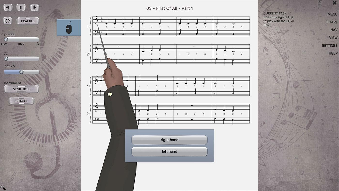 Sci-fi Silver Theme Musiah Piano Lessons