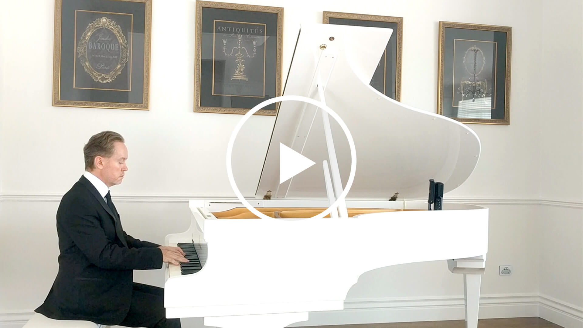 Piano Video: Brendan Hogan plays Rustle of Spring