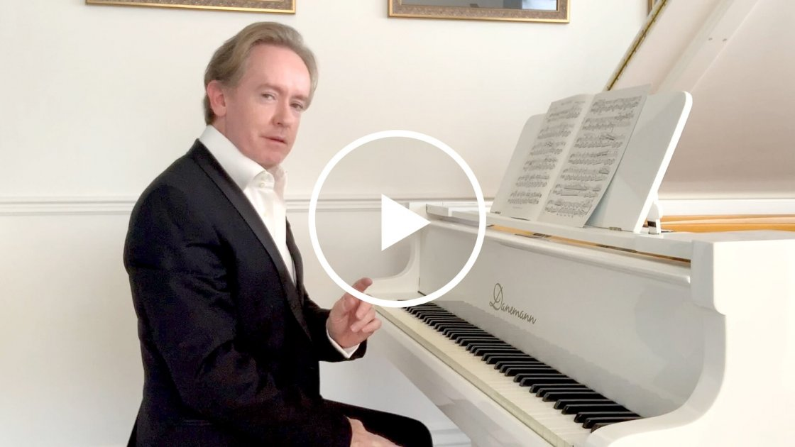 Brendan Hogan giving lesson piano posture