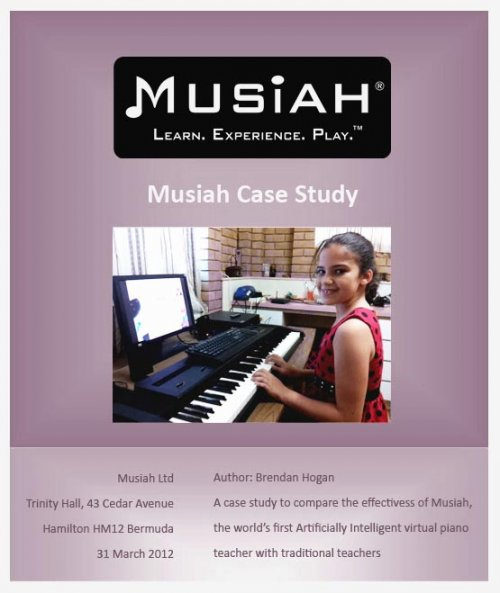 Piano Lessons Case Study